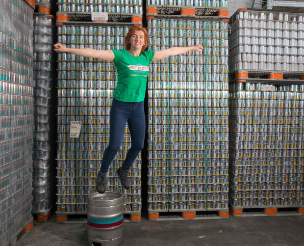 'We're like collateral damage on the pitch. It's starting to really hurt,' says Grainne Walsh of Metalman Brewing in Waterford City. Picture: Patrick Browne