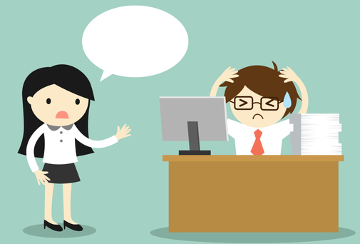 If you're going to approach your boss, keep the conversation civil and don't rehearse ahead of it