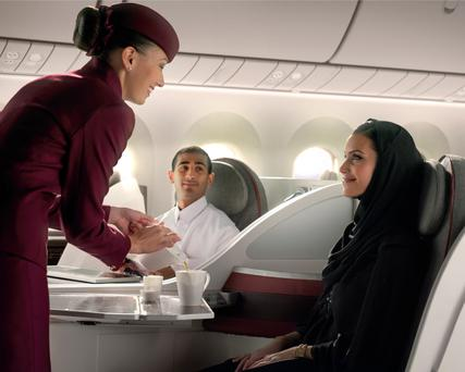 Qatar Airways is a consistent winner for its Business Class offering