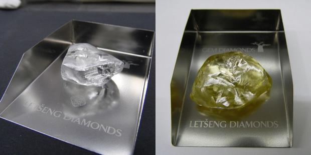 Global diamond producer Gem Diamonds has discovered two diamonds over 100 carats at its Lesotho mine