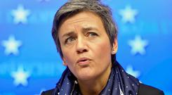 EU Competition Commissioner Margarethe Vestager