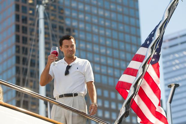 Leonardo DiCaprio played Jordan Belfort in The Wolf of Wall Street