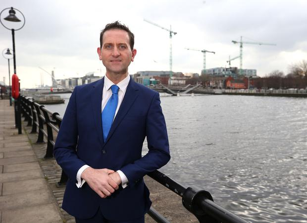 Taxback group founder Terry Clune has been involved in a public spat with the IDA over his Connect Ireland initiative. Photo: Damien Eagers