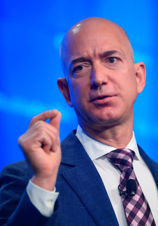 Amazon — headed by Jeff Bezos — 'has the ability to put the fear of God in any competitor'. Photo: AFP/Getty