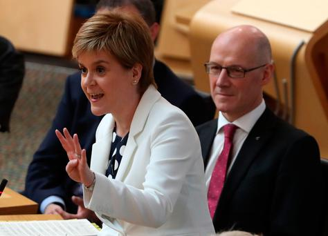 Scotland's First Minister Nicola Sturgeon who will address the Dublin Chamber in October