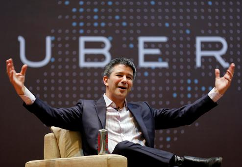 Uber co-founder Travis Kalanick said he had accepted the investors' 'request' to step aside