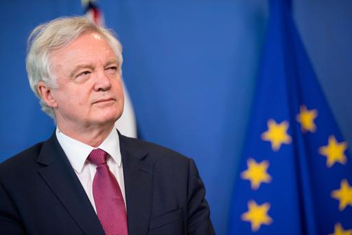 UK Brexit Secretary David Davis began talks with the EU earlier this week, but the British government's stance may still be a major threat to firms here. Photo: Bloomberg