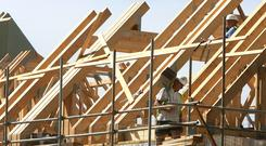 'A relatively small number of builders signed up to Simon Coveney's Help-to-Buy Scheme, which faces the axe in the October budget.' Stock photo: Bloomberg