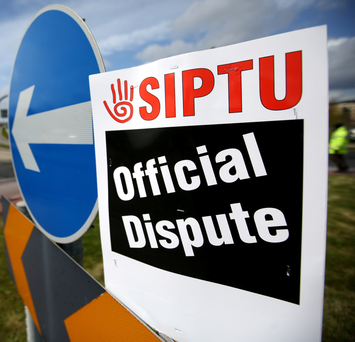 'The union is seeking 6pc per year for the three years from July 1, 2016, to June 30, 2019 for Dublin and Cork staff.' Photo: Gerry Mooney