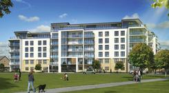 Built by the Cosgrave Group, the Neptune Building at Honey Park in Dun Laoghaire is one of Ireland's first BTR developments
