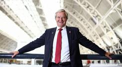 Norwegian chief executive Bjorn Kjos is surprised by the strength of sales out of Ireland to the US, and reckons Ryanair, under Michael O'Leary, won't be a rival yet