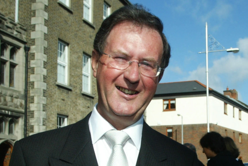 Mr Justice Brian McGovern: case admitted to the commercial list