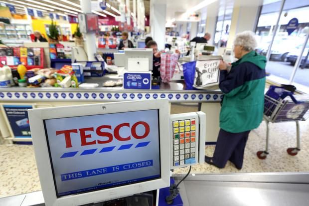 SuperValu told not to be complacent as Tesco sales rise 3.8pc. Photo: Bloomberg