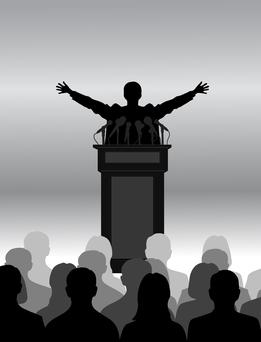 Be yourself — lots of professional people are nervous at the thought of public speaking