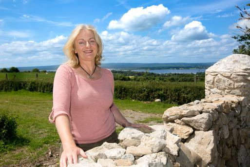 Ailbhe Gerrard, founder of Brookfield Farm: 'My farm is a little like The Shire in The Lord of the Rings. It gives shelter and food to all its animals and bees'. Photo: Brian Gavin Press 22