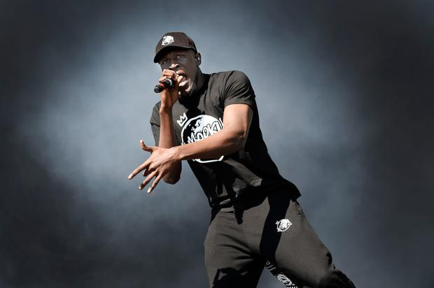 Stormzy is performing at MCD's Longitude festival in Marlay Park this weekend. Photo: AFP/Getty Images