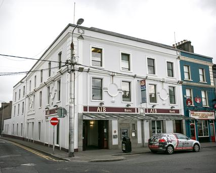 AIB's branch premises in Thurles, Co. Tipperary, is guiding between €1.95m and €2.05m