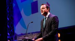 Taoiseach Leo Varadkar wants to save money in the system by doing things better, while also not to put money into the rainy-day fund