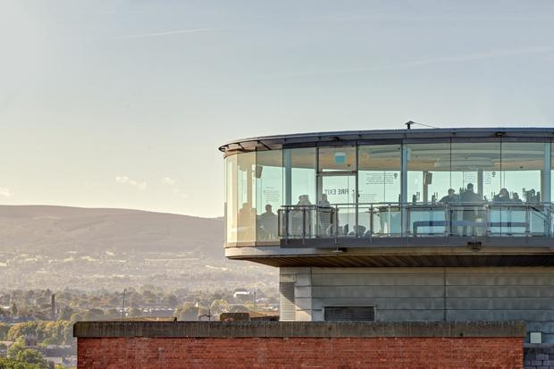 Hundreds of construction jobs to be created as the Gravity Bar at the Guinness Storehouse visitor attraction in Dublin's inner city is set to to double in capacity