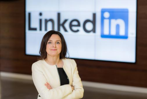 English-speaking 'Ireland remains highly attractive for migrating professionals thanks to our membership of the European Union,' said Sharon McCooey, site leader of LinkedIn Ireland