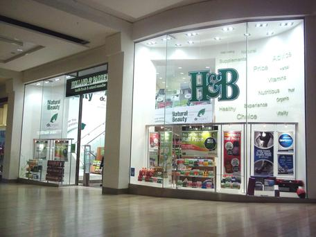 Health products chain Holland & Barrett has a number of stores in Ireland, North and South