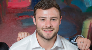 Robbie Henshaw, ambassador for Harcourt hotel group