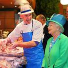 Britain's Queen Elizabeth in the English Market in 2011 — however visitor numbers from that country have declined recently Pic: Maxwells Dublin