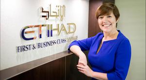 Etihad's Irish boss Beatrice Cosgrove says capacity is constantly under review and there is still room for growth for eastbound services out of Dublin. Picture: David Conachy