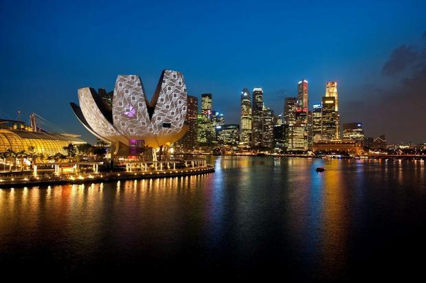 'Technology permeates Singapore. It is truly an innovation-led economy.' © 2012 Michel Verdure