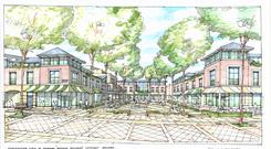 A group of locals have formed a group called 'Imagine Dundrum', which is in the process of drawing up proposals to regenerate the old part of Dundrum village