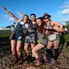 Music fans at the Electric Picnic concerts in Co Laois Last year.