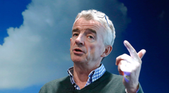 Ryanair boss Michael O'Leary Photo: Bloomberg