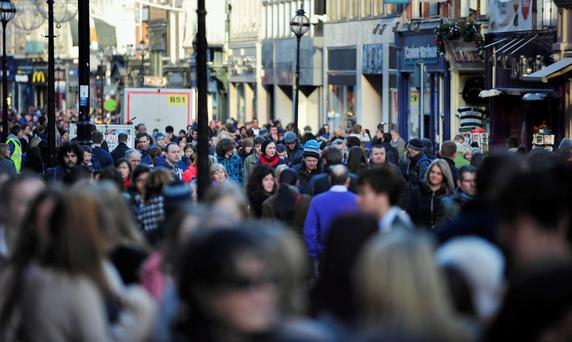 Irish businesses and consumers have regained some confidence lost following last year's Brexit vote, according to the Bank of Ireland's latest Economic Pulse survey. Stock Image