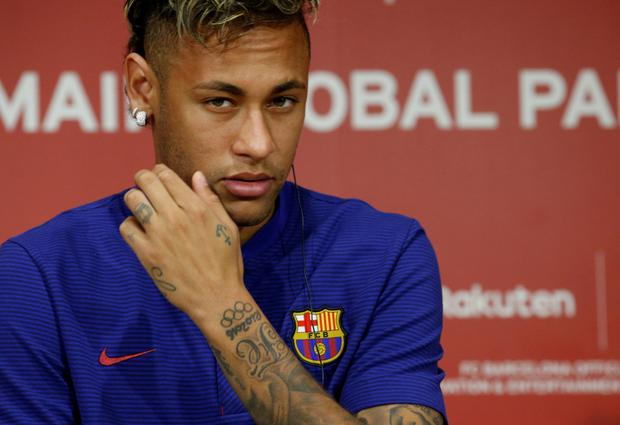 Barcelona footballer Neymar. Photo: Reuters