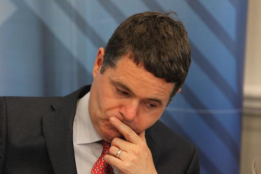 Isme says finance minister Paschal Donohoe 'must act prudently' in the penultimate budget before Brexit. Photo: Collins