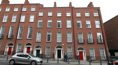 The office building in Dublin city centre is close to both the Mater and Temple Street hospitals