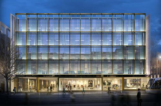 Dublin's One Molesworth Street building, a mix of office and retail
