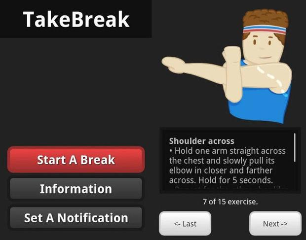 TakeBreak app
