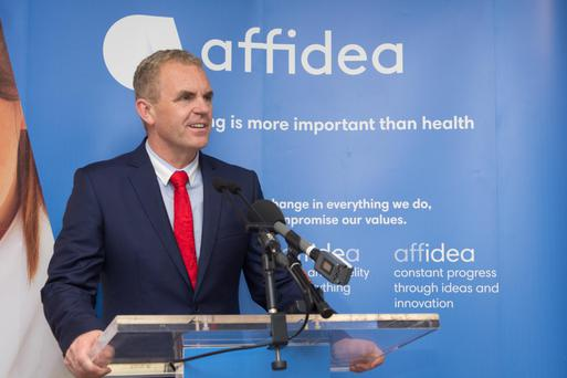 Tom Finn, CEO of Affidea Ireland