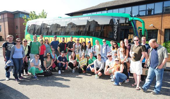 Paddywagon bus tour