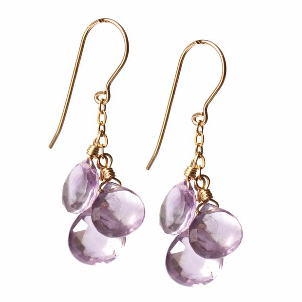 A set of Chupi's 'Brief Shower' earrings