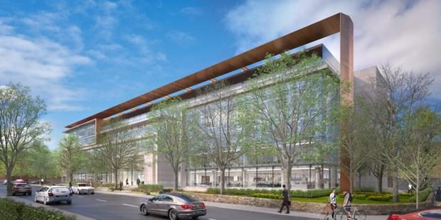 Amazon's new offices at the Vertium are the product of a joint venture between Colony Capital, U+I, and developers Johnny Ronan and Paddy McKillen