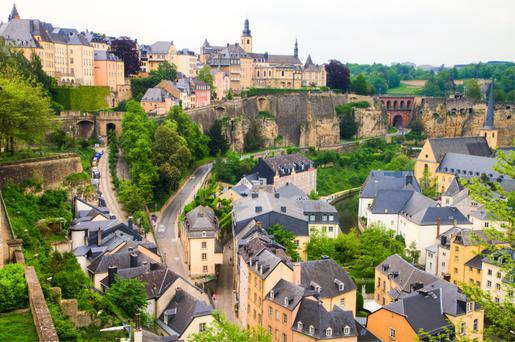 Luxembourg lags behind the €391bn sector in this country