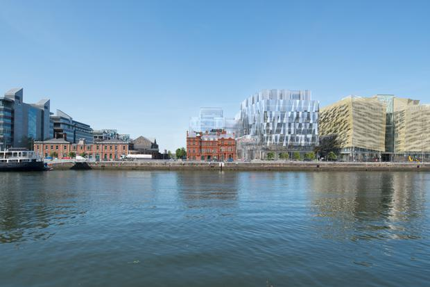 Johnny Ronan's €300m development at Spencer Place could ultimately support 5,000 jobs