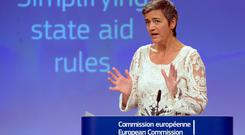 European competition commissioner Margrethe Vestager will speak at the Web Summit in Lisbon