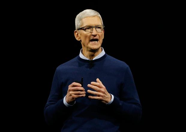 Apple CEO Tim Cook says it wants to give customers 'something that really makes a difference in their lives'. Photo: Reuters