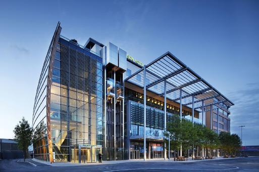 87m price tag for gibson hotel in dublin 39 s docklands for Design hotel dublin