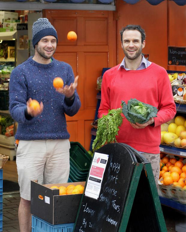 David and Stephen Flynn of the Happy Pear have SuperValu deal