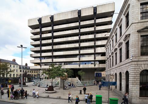 The former Central Bank headquarters in Dame Street, Dublin, which is set to become a popular destination for tourists as well as office space