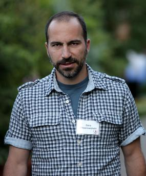 Dara Khosrowshahi, new chief executive of Uber, has described himself as a 'fighter'